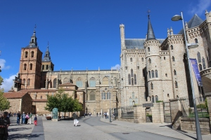 Gaudi Palace and Astorga Cathedral